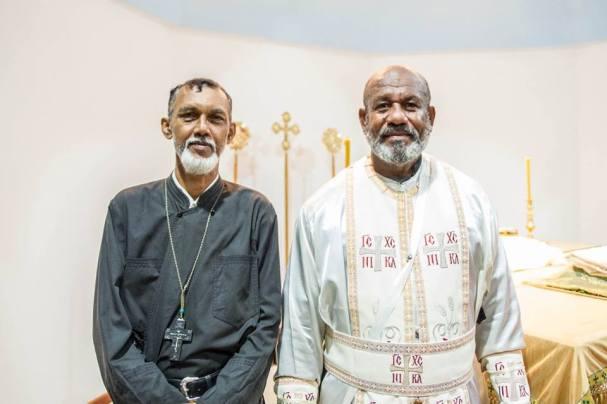 Frs Bartholomew and Panagiotis
